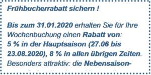 Frühbücher-Rabatt